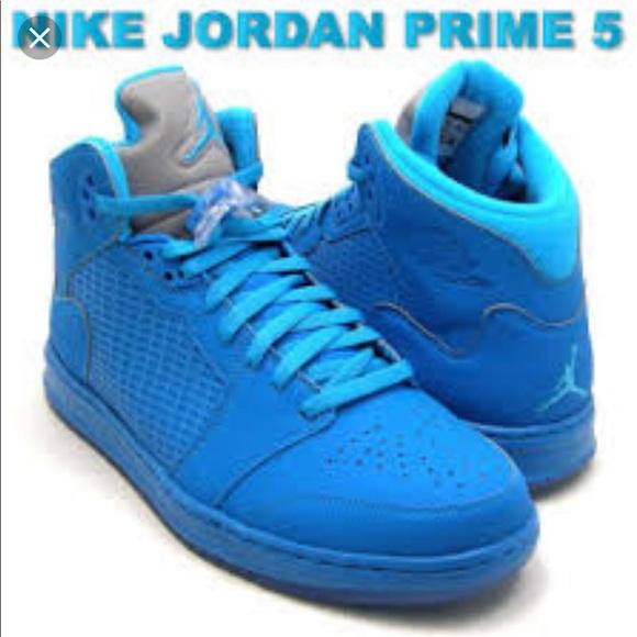 finest selection fb19b 3fec4 Nike Air Jordan Prime 5 Orion Blue Metallic Silver.  M 5b8db583dcfb5a6fdf838df9